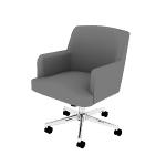 HVL232 | HON Matter Multipurpose Chair | Synchro-Tilt Control | Chrome Five-Star Base