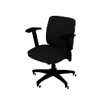 HVL281ZV10ARM | HON Network Low-Back Task Chair | Swivel-Tilt Control | Height-Adjustable Arms