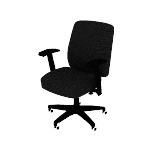 HVL282 | HON Network Mid-Back Task Chair | Asynchronous Control | Height- and Width-Adjustable Arms