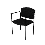 HVL616   HON Scatter Stacking Guest Chair   Fixed Arms