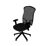 HVL702 | HON Wave Mesh High-Back Task Chair | Synchro-Tilt | Adjustable Arms