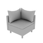 HWH1TCP | HON West Hill True Corner | Pillow Cushions