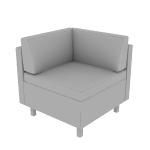 HWH1TCSCF | HON West Hill True Corner | Standard Cushions | Contrasting Fabric