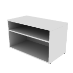 HLSL2036LD0 | Low Credenza, Open