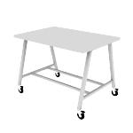 HEMKR426042L | Build Makerspace Table 42x60 Standing w/ Lam Top