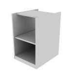 "HTLMC1828O | HON Preside Modular Pedestal | Bookshelf | No Door | 18""W"