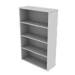 "H105534 | HON 10500 Series Bookcase | 4 Shelves | 36""W"