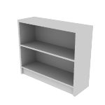 "H1871 | HON 1870 Series Laminate Bookcase | 2 Shelves | 29 7/8""H"