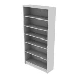 "H1876 | HON 1870 Series Laminate Bookcase | 6 Shelves | 72 5/8""H"