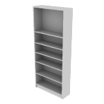 "H1877 | HON 1870 Series Laminate Bookcase | 6 Shelves | 84""H"