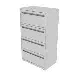 "H774 | HON Brigade 700 Series Lateral File | 4 Drawers | 30""W x 18""D"