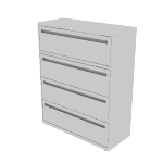 "H794 | HON Brigade 700 Series Lateral File | 4 Drawers | 42""W x 18""D"