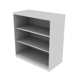 "HFSC183640W | HON Flagship Bookcase | 3 Shelves | 36""W x 18""D"