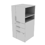 "HLSLW445L | HON Voi Storage Cabinet | Left Hand Door  | 24""W x 24""D"