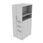 "HLSLW485L | HON Voi Storage Tower | Left Hand Door | 18""W x 24""D"