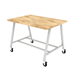 HEMKR426042BB | Build Makerspace Table 42x60 Standing w/ BB Top