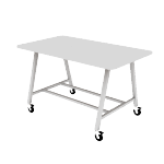 HEMKR427242L | Build Makerspace Table 42x72 Standing w/ Lam Top