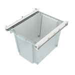 "HLSA-TK12 | HON SmartLink Tray Kit | 2 Trays / 4 Rails | 12""H"