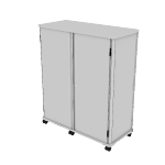 "HLSF52T-3D | HON SmartLink Modular Storage Cabinet | Full Height | 52-3/4""W"