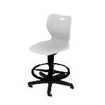 "HSSST-18B | HON SmartLink Task Stool | Adjustable Footring | 18""H"