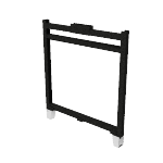 "HRFF3530P | HON Abound Open Base Panel Frame | 35""H x 30""W"