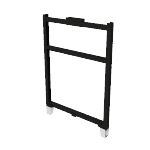 "HRFF4230P | HON Abound Open Base Panel Frame | 42""H x 30""W"