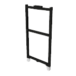 "HRFF5024P | HON Abound Open Base Panel Frame | 50""H x 24""W"