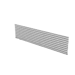 "HRVT1560W | HON Abound Tool Tile | Slotted | 15""H x 60""W"