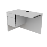 "H10512L | HON 10500 Series  Return | 1 Box / 1 File Drawers | Left | 42""W"