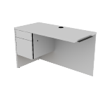 "H10516L | HON 10500 Series Return | 1 Box / 1 File Drawers | 48""W"