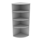 "H105524 | HON 10500 Series End Cap Bookshelf | 66 5/8""H"