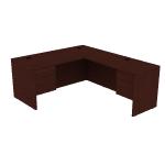H105LL6630N | 10500 L w/ 66W Lf Desk 3/4 Peds Mah