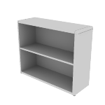 "H10752 | HON 10700 Series Bookcase | 2 Shelves | 36""W"