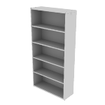 "H10755 | HON 10700 Series Bookcase | 5 Shelves | 36""W"