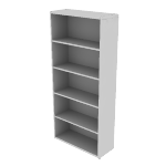 "H107569 | HON 10700 Series Bookcase | Adjustable Shelves | 32 5/8""W"