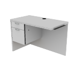 "H11512L | HON Valido Return | 1 Box / 1 File Drawer | Left | 42""W"