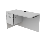 "H11516L | HON Valido Return | 1 Box Drawer / 1 File Drawer | Left | 48""W"