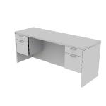 "H11543 | HON Valido Double Pedestal Credenza | Kneespace | 2 Box / 2 File Drawers | 72""W"