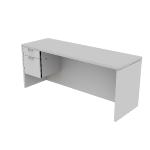 "H11546L | HON Valido Pedestal Credenza | 1 Box / 1 File Drawer | Left | 72""W"