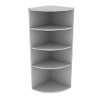 "H115524 | HON Valido End Cap Bookshelf | 24""W"