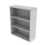 "H11553 | HON Valido Bookcase | 3 Shelves | 36""W"
