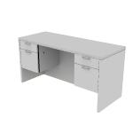"H11565 | HON Valido Credenza | Kneespace | 2 Box / 2 File Drawers | 60""W"