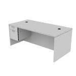 "H11586L | HON Valido Pedestal Desk | 1 Box / 1 File Drawer | Left | 72""W"