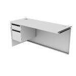 "H38218L | HON 38000 Series Flush Return | 1 Box / 1 File | Left | 60""W"