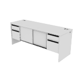 "H38853 | HON 38000 Series Credenza | Doors | 2 Box / 2 File Drawers | 72""W"