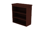 "H94210 | HON 94000 Series Bookcase Hutch | 2 Shelves | 35 3/4""W"