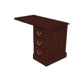 "H94211R | HON 94000 Series Return | 1 Box / 1 File Drawer | Right | 42""W"
