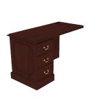 "H94216L | HON 94000 Series  Return | 1 Box / 1 File Drawer | Left | 48""W"