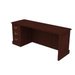 "H94246L | HON 94000 Series Credenza | 1 Box / 1 File Drawer | Left | 72""W"