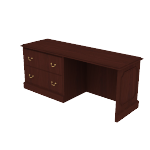 "H94248L | HON 94000 Series Credenza | 2 Drawer Lateral | Left | 72""W"